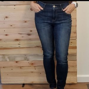 Express High Rise Jennings Skinny Stretch Jeans